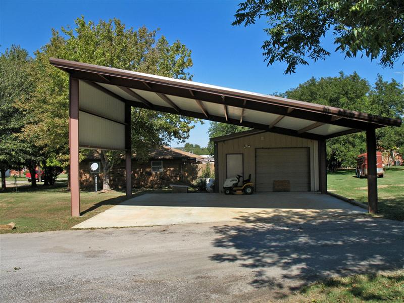 Stephenville realty for Covered car port